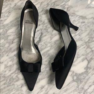 Stuart Weitzman satin heels